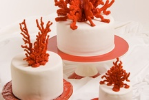 коралловый свадьба