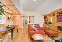 Contemporary Spaces / We love the clean lines of contemporary spaces. See more at www.feinmann.com / by Feinmann Design|Build