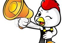 Vector Chicken Character / Boians Vector Chicken Character Design Series.