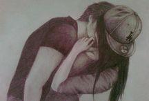 szerelmes rajzok