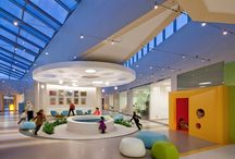 Healthcare Offices / Healthcare office Ideas for lobby areas, floor plans, interactive spaces.