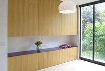 Chalcott Road, NW1 / contemporary handleless kitchen and furniture design