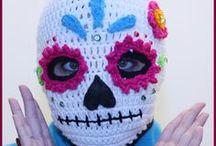 Mascaras em croche