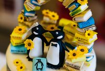 Penguin books themed wedding / Our wedding was Penguin book themed and I wanted to share it all with you on here! All photos courtesy of Paul Joseph Photography / by Sophie Nesworthy