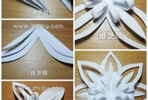 Papír - Kirigami