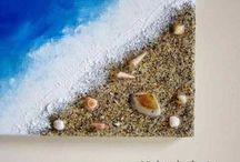 Playa manualidades