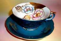 Vintage tea set made in occupied Japan
