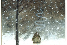 Decemberings - daily drawings / by Susan Mitchell
