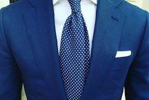 Modre obleky