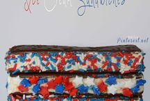 July 4th / 4th of july, fourth of july, red white and blue, recipes, patriotic, desserts, Americana, american, flag, pie, cake, diy, outfit, july fourth, fireworks, party