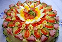 Snacks/fruit designs