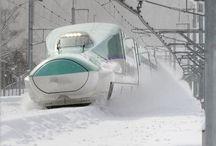 新幹線に乗る