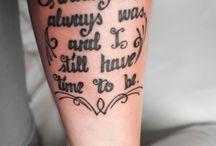 tattoo inspiration / by Jackie Glogowski