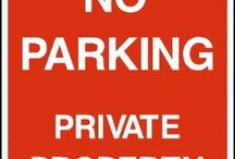 Parking signs / We've a range of Car Park signs, Parking signs and No Parking signs suitable for use where car parking is an issue.  Any place where cars, lorries and similar vehicles may cause a hazard or an accident needs adequate signage to comply with the Health & Safety Regulations 1992