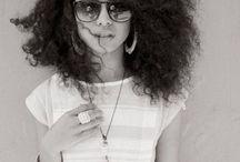 curly hair / cheveux  bouclé