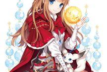 anime girl ;3