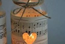 Music Theme / Calling all music lovers.  Night the high notes with a musical wedding.