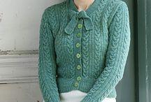 Knitting/retro