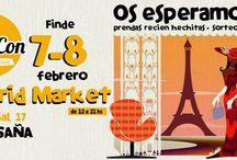 Markets a Gogó! / Mercadillos para ver a Petitpascon en acción! Las camis mas molonas con descuentos , sorpresas y mucho más!