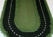 Crochet Mats & Rugs / A selection of Crochet Mats & Rugs. Visit my website for my own originally designed FREE crochet patterns www.patternsforcrochet.co.uk / by Patternsforcrochet