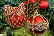 Christmas Decorations & Beads