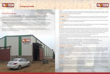 Fry-tech Food Equipment Brochure / Company Profile and Product Offerings