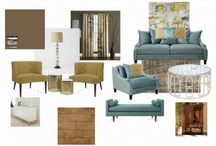 My Mood Boards / DIY | Home blogger, Astral Riles provides a compilation of various beautifully designed interior decorating mood boards.  http://www.astralriles.com