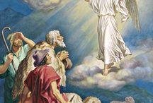 angeles y pastores