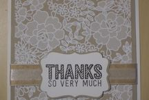 Stampin' Up! ~ Simply Wonderful / Inspiration for Stampin' Up!'s Simply Wonderful set.