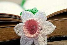 CROCHÊ - Flores e Folhas / Flores e folhas em crochê para serem aplicados em vários trabalhos