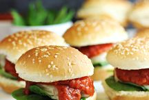 Life Love Burgers & Sandwiches / Recipes for hamburgers and sandwiches - paninis, sliders and more!