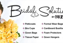 Dress bags , Petticoats , Gown bags and Bridal Accessories