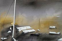 Akvarel: Morten W Gjull