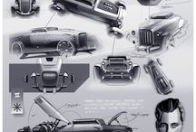 Car Design - Rendering & Sketch