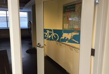 Blairs Pets / We love our pets at the Blairs, which is why we have Pedals & Paws, a 1,200 square foot lounge outfitted with pet care stations where we offer pet grooming free to our residents twice a month!