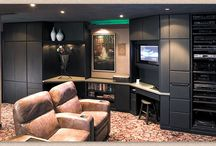 Movie Night - Showplace Cabinets / Milan Door Style