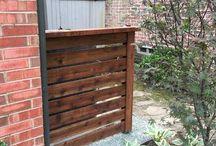 Air Conditioner Covers / Air Conditioner Covers installed by Titan Fence & Supply Company