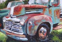 car paintings / by Janis McCarty