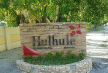 Hulhule' Island Hotel ( HIH ) / Hulhule' Island Hotel or HIH is in Ibrahim Nasir International Airport