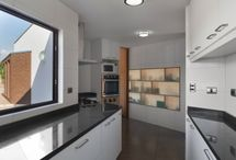 Kitchens angled & curved