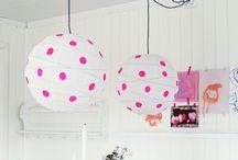 Neon / De prachtige felle kleuren misstaan niet in een hip interieur.