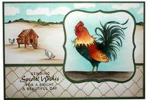Cockadoodledoo / by Hobby Art Stamps