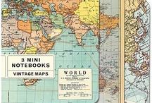 Map Mania! / Creative ways to use maps, atlases, and globes for crafts, handmade books, home decor, art journals, and more!