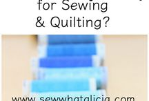 Sewing - Pressing & Sewing Machine Care