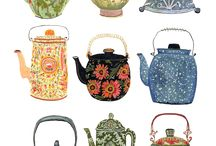 Cups and teapots