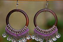 Macramé Pachamama / my macrame jewelry
