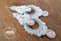 soutache earrings wedding