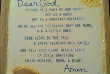 prayers / by Birgit Mills