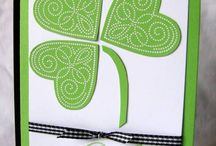 St Patrick cards and crafts