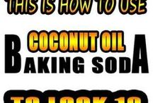 Baking Soda Coconut oil
